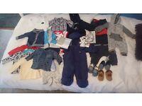 Baby boy clothes 0-3 month 30 piece job lot