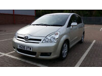 2006 Toyota Corolla Verso 2.2 D-4D TR 7 Seats with 1 LADY OWNER & MAIN DEALER SERVICE HISTORY