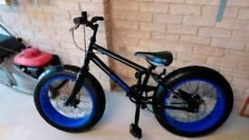 Monster Avigo fat tyre boys bike