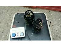 Jebao powerheads/wave makers marine tank with controller