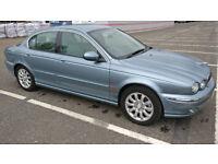 2003 Jaguar X Type Metallic Blue 4WD Auto