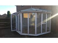 Used conservatory can be uplifted asap