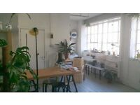 Beautiful Warehouse Studio in the heart of Dalston