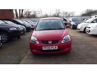 HONDA CIVIC 1.4 AUTOMATIC, 1 OWNER, 1 YR MOT FSH, 5 DOOR!