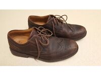 Clarks Active Air Brogues (dark tan, UK size 7)