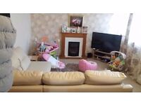 2bed above garages with own garden need 3 bed smithswood