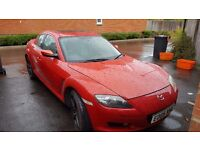 Beautiful Mazda RX8 with recently rebuilt engine