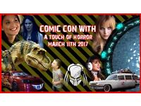 Optimus: one day comic con with a touch of horror