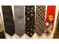 Selection of mens ties x 10