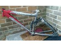 Carrera Banshee Mountain bike frame