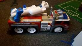matchbox fire engine