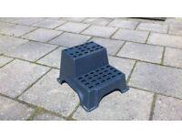 Small Plastic Double Caravan / Motorhome Step