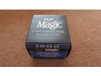 New Bower Flip Magic 0.45X Super Wide Macro Lens 37mm