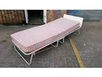 Spare room freestanding fold-out single bed