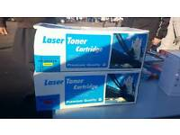 2 Brand new HP Laser toner cartridges