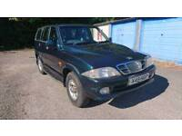 Daewoo Musso 4x4 Automatic Diesel 2.9 Mercedes engine with 12 months MOT