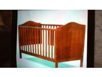 Brand new Darlington Cot-bed & Mattress