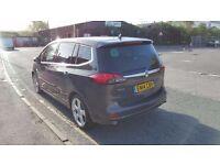 PCO Rent 2014 Vauxhall Zafira Tourer 7 SEATER 1.4 Manual £130 p/w