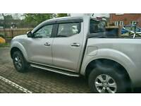 £100 ONO NISSAN NAVARA side rails/side steps