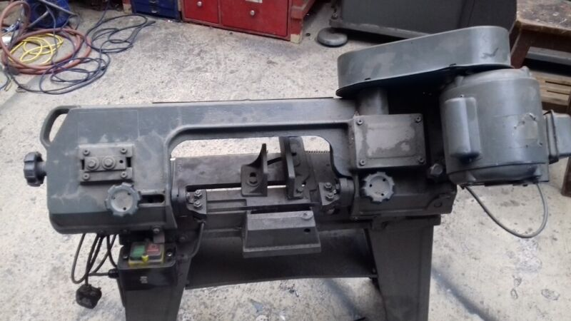 240 volt metal cutting band saw  for sale  Penarth, Vale of Glamorgan