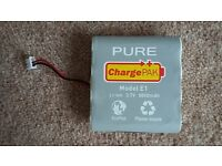 RECHARGEABLE PURE E1 CHARGEPAK