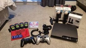PlayStation 3 (PS3) + Games + Accessories