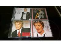 ROD STEWART. THE GREAT AMERICAN SONGBOOK CD ALBUMS .VOLUMES 1.2.3.4.NEW.