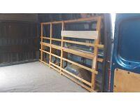 Ford Transit Wooden Racking / Shelving