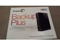 Seagate Backup Plus 4 TB USB 3.0 Portable 2.5 inch External Hard Drive for PC and Mac - Black