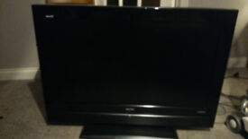 """Sanyo 37"""" LCD TV with remote"""