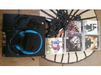 Ps3 5 games 1 control 1 head set and 2 charger £90