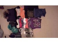 boys bundle of clothes age 8yrs to 9yrs
