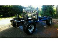 "Land Rover Discovery 100"" Rolling Chassis 4x4 Off Road Hybrid Challenge Truck"