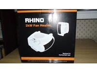 Rhino Fan Heater 2KW - Unwanted Gift