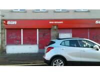 Retail unit in busy shopping precinct Mayfield, Dalkieth