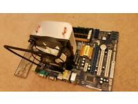 CPU, motherboard and ram