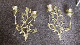 Pair of wall mounted Candelabra £10