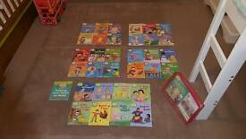 33x Biff, Chip & Kipper reading books-Oxford Learning Tree, used in schools -full set in case