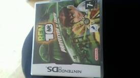 Nintendo ds game ben 10
