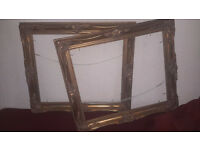Large antique pic frames