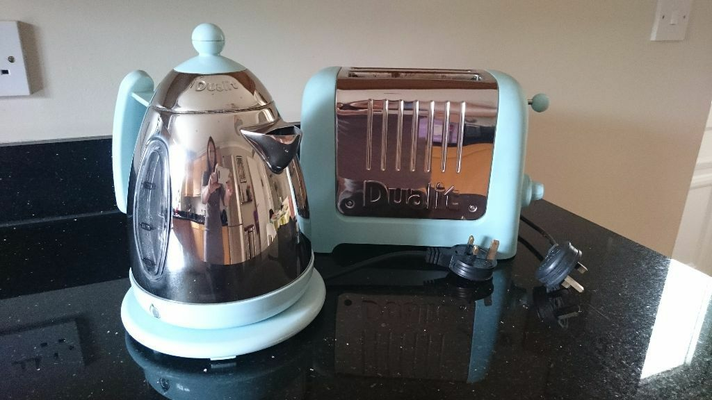 Dualit Jug Kettle & Lite Toaster Duck Egg Blue