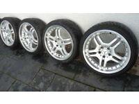Set of 4 Wheels / Tyres (Mercedes)