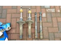 MK4 GOLF ANNIVERSARY SET OF 4 ORIGINAL GENUINE SHOCK ABSORBERS.