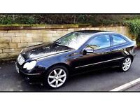 2005 Mercedes Kompressor coupe black manual SWAPs