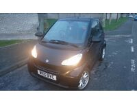 2010 Smart Fortwo Passion 1Litre Petrol. Very low mileage only 18K