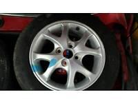 Toyota yaris alloy wheels