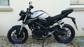 Yamaha mt-125cc blue