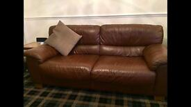 2 and 3 seater leather sofas from Harveys