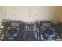 pioneer cdj-2000nexus2 + djm 750k mixer