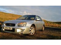 Subaru Imprezza 2004 for sale. fantastic car. moving forces sale